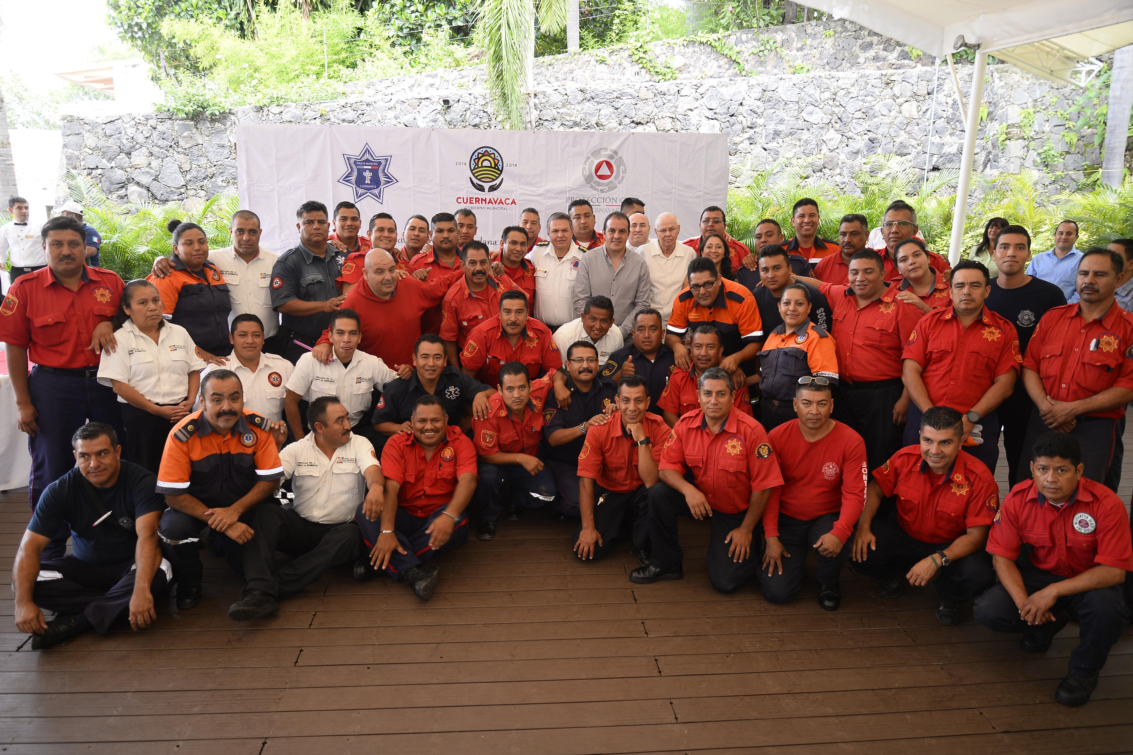 Día del bombero