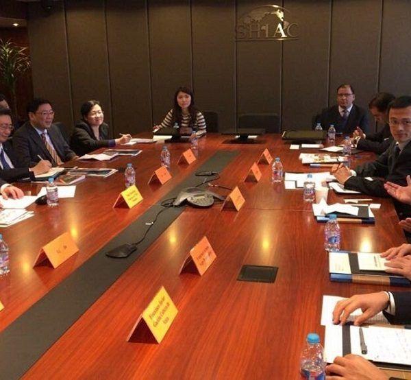 Yang Jianrong, presidente del Comité de Shanghái para la Promoción de Comercio Internacional