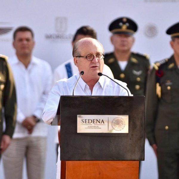 Defensa Nacional, general Salvador Cienfuegos Cepeda