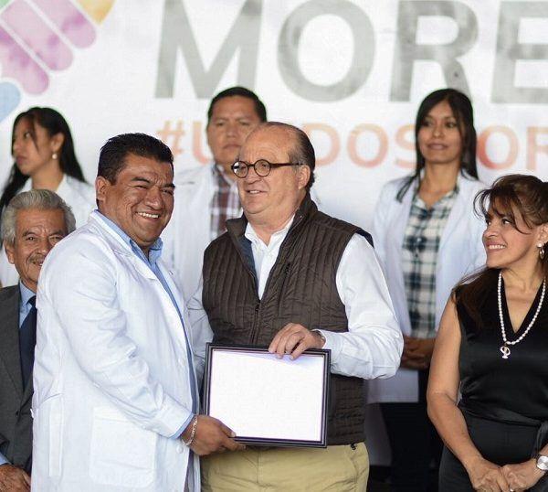 el gobernador Graco Ramírez reconoció el trabajo que el sector ha hecho para otorgar servicios de calidad a los morelenses