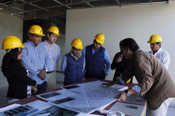 Secretaría de Obras Públicas supervisaron la obra de la Ciudad Judicial