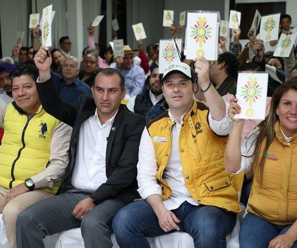 La presidenta estatal del PRD, Hortencia Figueroa Peralta, reconoció la madurez y unidad de los militantes para llegar a acuerdos en la designación de candidatos