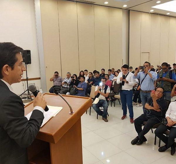 Demetrio Chavira explicó que justamente hace un año había solicitado su incorporación, junto con cerca de 2,000 personas, al Partido Encuentro Social