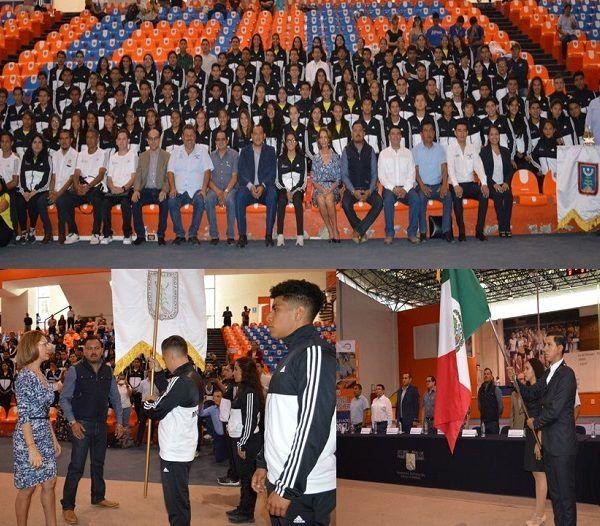 El representativo morelense está integrado con un total de 123 deportistas y más 23 entrenadores; estarán compitiendo en ocho disciplinas deportivas, como son Ajedrez, Atletismo, Futbol Asociación, Voleibol, Básquetbol, Futbol Bardas, Básquetbol en la modalidad de 3x3 y Voleibol de Playa