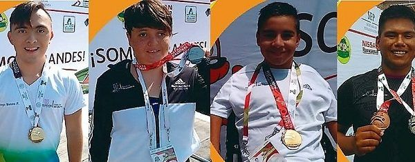 Mientras que Elisa Priscila Hernández ganó plata en los 50 metros estilo mariposa categoría 19-21 años clasificación S1-S7/S11-S21 con tiempo de 55 segundos y 64 centésimas, en los 100 metros libres concluyó la prueba con tiempo de 1 minuto 43 segundos y 38 centésimas