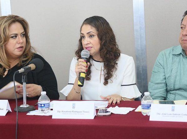 Durante la instalación, la legisladora perredista estuvo acompañada de la secretaria de la comisión, Tania Valentina Rodríguez Ruiz; y del vocal, José Luis Galindo Cortés, a quienes los invitó a cumplir con lo establecido en el artículo 81 de la Ley Orgánica del Poder Legislativo en donde se definen las actividades de dicha comisión