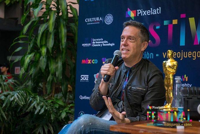 Lee Unkrich visitó por primera vez Morelos gracias a la invitación de la empresa Pixelatl, quien lleva la batuta en este magno evento que reúne a guionistas, animadores, editores, diseñadores y demás creativos de Latinoamérica, informó la Secretaría de Innovación, Ciencia y Tecnología (SICyT)