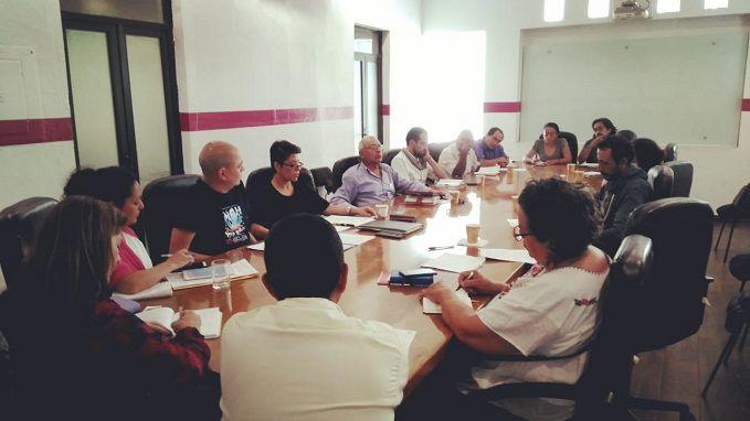 Al sostener una reunión de trabajo con la nueva secretaria de Cultura y Turismo, Margarita González Sarabia, presentaron un balances de los aportes y retrocesos de los últimos gobiernos en materia de políticas culturales