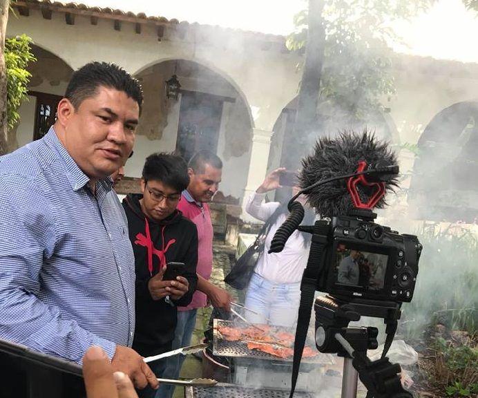 En conferencia de prensa, acompañado por Margarita González Sarabia, secretaria de Cultura y Turismo del gobierno de Cuauhtémoc Blanco Bravo, el presidente de Yecapixtla indicó que esta es la 28 edición de la Feria, misma que se ha convertido en un atractivo turístico para los habitantes del centro del país