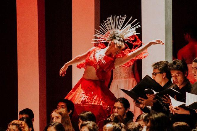 La rectora del CMA, Leticia Martínez Patiño, destacó que la 13ª Semana de las Artes cumplió con el objetivo de vincular a los estudiantes de todas las licenciaturas en una interacción interdisciplinaria con alto impacto social