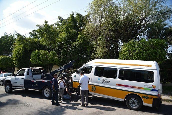 El resultado de este día fue de 19 unidades retenidas y enviadas al corralón, así como el levantamiento de 20 infracciones