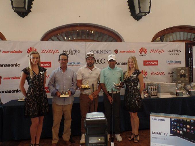 Como segundo quedó Rafael Quiroz Canales, del Club Tabachines de Cuernavaca, y en la tercera posición Gustavo de la Serna Cárdenas; y el torneo acaparó la atención de cada uno de los asistentes durante todo el desarrollo de la competencia; al final se entregaron todos los premios a los ganadores