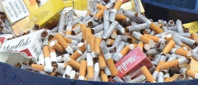 En México, el 16 por ciento de los cigarros que se venden son origen ilegal y podrían estar hechas con estos materiales, han revelado la Comisión Federal para la Protección contra Riesgos Sanitarios y la Industria Tabacalera nacional
