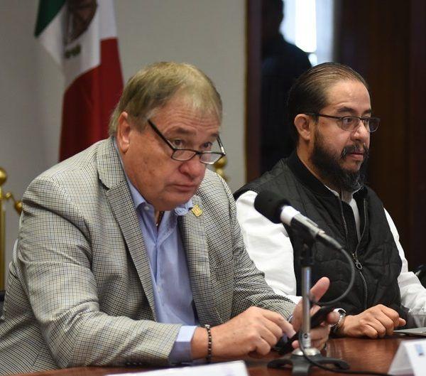 l salir de la reunión con motivo de la mesa de coordinación para la Seguridad y la Paz, la cual encabezó al lado del jefe de la Oficina de la Gubernatura, José Manuel Sanz Rivera, manifestó que el jefe del Ejecutivo federal estará el martes 11 de diciembre en el municipio de Jojutla