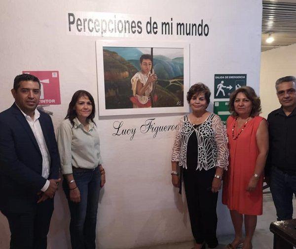 Fue en las instalaciones del Centro Cultural de la Delegación Estatal del ISSSTE, donde se realizó la inauguración y se montó la muestra de la pintora coahuilense, que estará en exposición durante un mes, y que consta de 25 cuadros