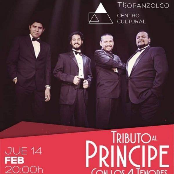 Hugo Juárez, director del CCT, destacó el magno concierto que darán los cuatro tenores en tributo a José José el día 14 de febrero a las 20:00 horas, en el marco del Día del Amor y la Amistad
