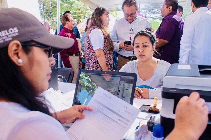 En el evento organizado por el Régimen Estatal de Protección Social en Salud de Morelos (REPSS) el edil agradeció la buena voluntad y la participación de las autoridades estatales para acercar beneficios y dar cumplimiento a objetivos comunes, como son la atención de distintos problemas de salud pública