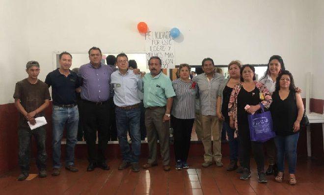 Asimismo, reiteró el compromiso del alcalde Antonio Villalobos Adán para trabajar de la mano con los Ayudantes en beneficio del municipio