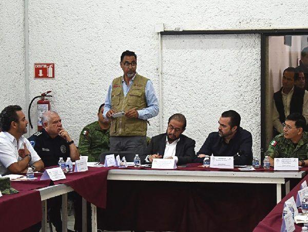 Esta zona comprende los municipios de Cuernavaca, Huitzilac, Temixco, Xochitepec y Tepoztlán, por lo que acudieron alcaldes y representantes de todos los ayuntamientos para atender de forma inmediata los temas de seguridad