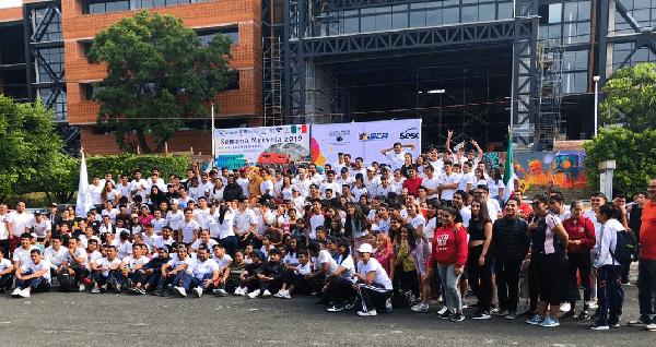 A iniciativa de Sesc SP (Serviço Social do Comércio no Estado de São Paulo Brasil) y la Asociación Internacional de Cultura Física y Deportes, la UAEM fue invitada para participar de la Semana MUÉVELA 2019, entre los días 21 y 29 de septiembre. Es una acción integrada entre Brasil y demás países de Latinoamérica y Europa