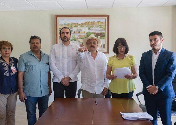 manifestó su voluntad política de trabajar coordinados con el municipio de Amacuzac para mantener la gobernabilidad en Morelos