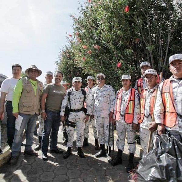 Ahí es donde, la mañana de este sábado, el alcalde capitalino Antonio Villalobos Adán cumplió el compromiso de realizar una jornada de limpieza, asumido en la pasada reunión de Cabildo Abierto del lunes 27 de enero en esta comunidad