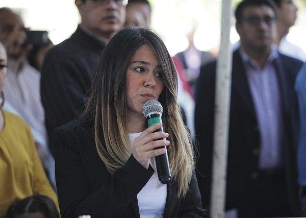"""Expresó que """"En Cuernavaca trabajamos por recuperar la cohesión social para lograr una comunidad que tenga como valores más preciados la paz y la solidaridad"""". Expuso la necesidad de defender que hombres y mujeres tengamos los mismos derechos y oportunidades, porque ello es pieza fundamental en el México que vivimos"""