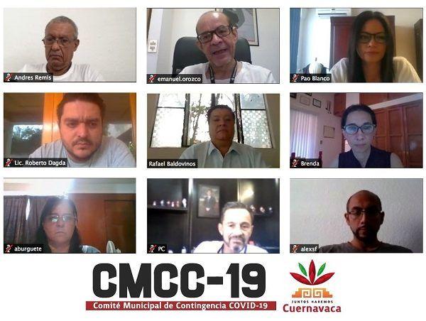 El Comité Municipal de Contingencia Covid-19 (CMCC-19) alista las recomendaciones para el ayuntamiento de Cuernavaca ante la inminente tercera fase de la pandemia ocasionada por el coronavirus la cual se caracteriza por el crecimiento abrupto del número de enfermos
