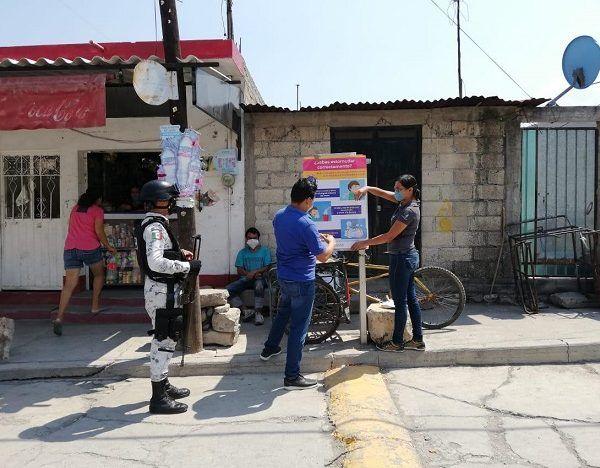 Además de la colocación de lonas en colonias de riesgo de los municipios de Cuernavaca, Jiutepec, Temixco, Emiliano Zapata, Jojutla, Puente de Ixtla, Xoxocotla, Tlaltizapán, Cuautla, Ayala y Yautepec