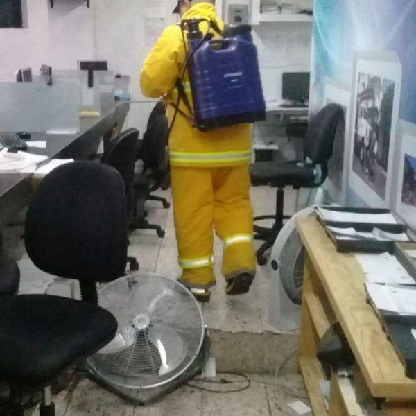 El titular del SAPAC, Jaime Tapia, instó a los trabajadores del organismo a llevar a cabo las medidas adecuadas para mantener los espacios limpios durante esta contingencia sanitaria