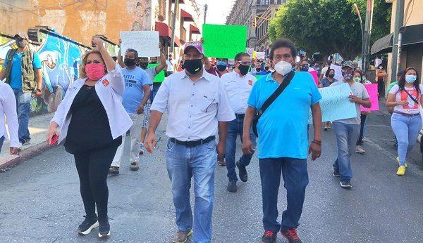 Agradeció al alcalde Antonio Villalobos su sensibilidad para que los comerciantes del Tianguis de Ciudad Chapultepec