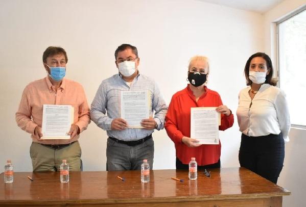 El presidente Rafael Reyes Reyes destacó las coincidencias interinstitucionales con el organismo del Gobierno de México