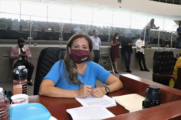 La propuesta fue impulsada por la diputada morenista Alejandra Flores Espinoza, presidenta de la Comisión de Educación y Cultura, quien señaló que a nueve meses transcurridos del año se desconoce en qué se han aplicado los recursos para evitar el cobro de cuotas escolares a los padres de familia