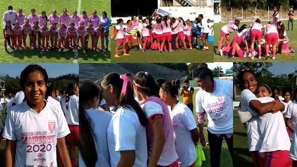 En los 90 minutos de juego la lucha en la cancha de la Unidad Deportiva Mariano Matamoros de Xochitepec termino con la igualada a dos goles, con doblete de Camila Vite, de las anfitrionas, y Andrea Contreras, por las visitantes, quienes tuvieron soberbias actuaciones en este duelo final