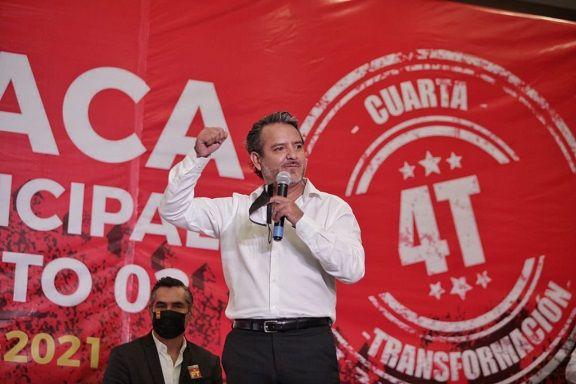 Moctezuma Serrato y Jaime Tapia candidatos a diputados por Cuernavaca