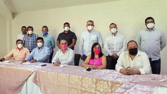 los empresarios compartieron las dificultades por las que atraviesa el sector a partir de la contingencia sanitaria a causa de la Covid-19, así como por los hechos de inseguridad en la Ciudad