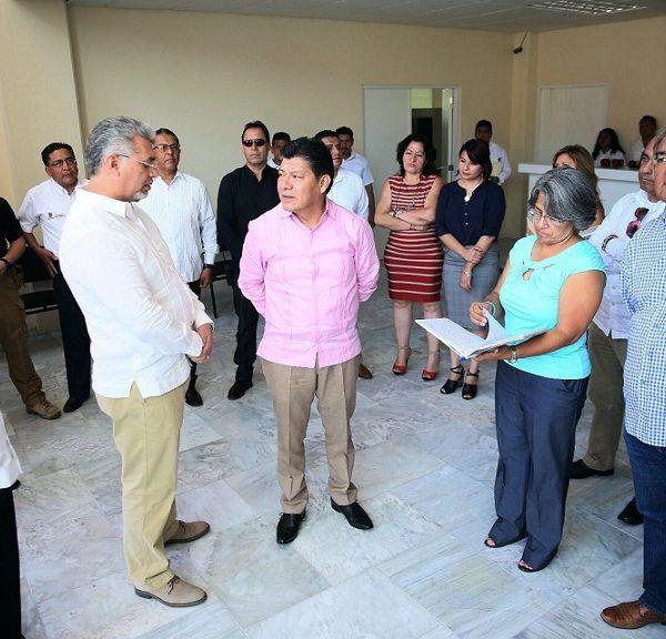 la secretaria de Obras Públicas, Patricia Izquierdo