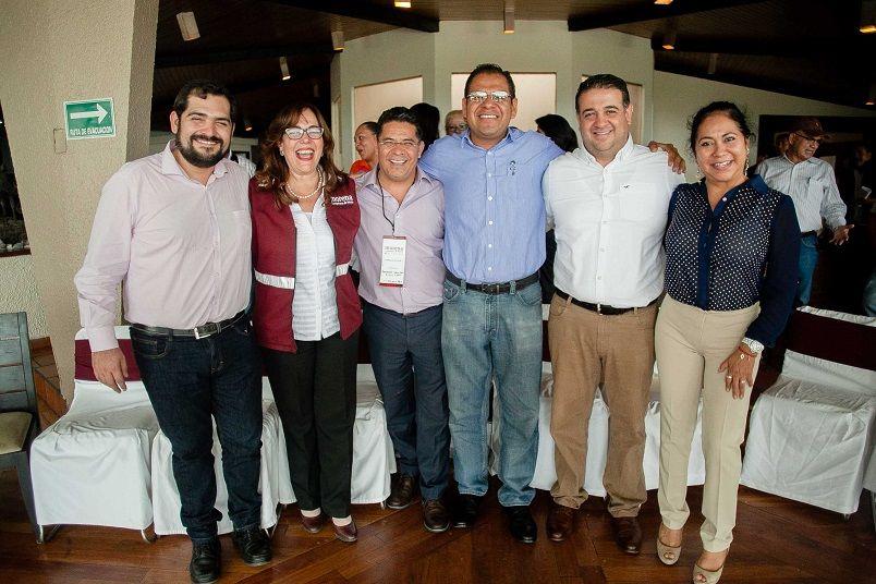 Rabindranath Salazar Solorio como coordinador de Organización rumbo al Proceso Electoral 2018