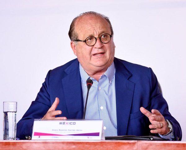 el director del Agroparque Yecapixtla, Carlos Jalife