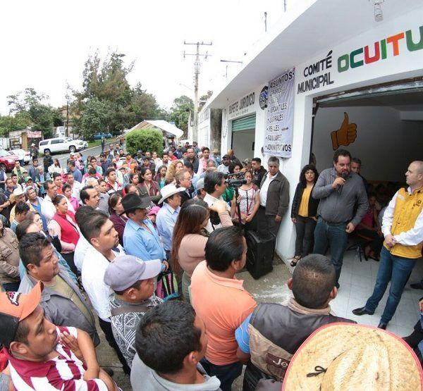 Comités Ejecutivo Municipales de Yecapixtla y Ocuituco