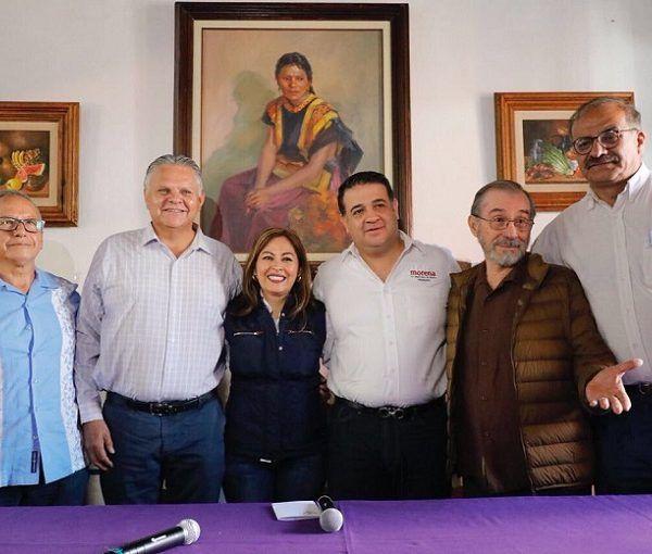 Guillermo López Ruvalcaba, Raúl Iragorri Montoya y Javier García Chávez, actual diputado federal