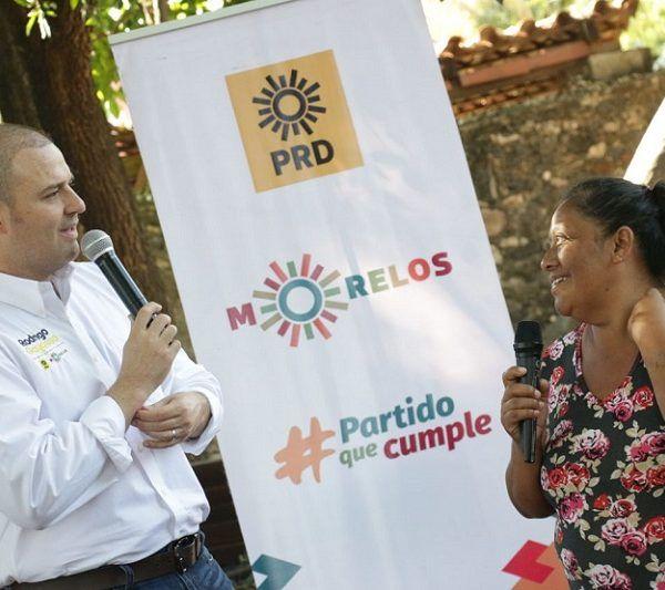 , inauguró las instalaciones del Comité Ejecutivo Municipal de Xochitepec