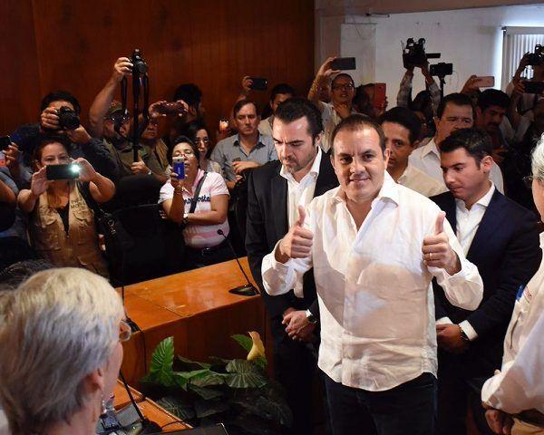Rabindranath Salazar Solorio, coordinador regional de la campaña de Andrés Manuel López Obrador