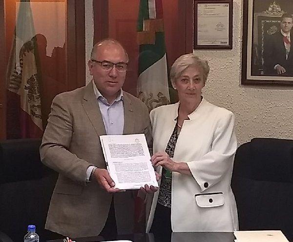 Firma con Talleres Gráficos de México contrato por 22 mdp