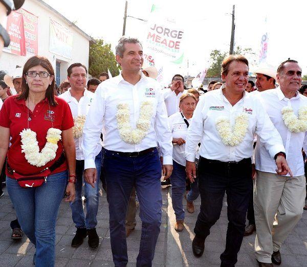 José Antonio Meade será presidente de México y Jorge Meade Ocaranza gobernador de Morelos, sentenció el dirigente nacional del PRI, Enrique Ochoa Reza, al acudir al arranque de campaña del morelense realizado en la comunidad indígena de Chalcatzingo