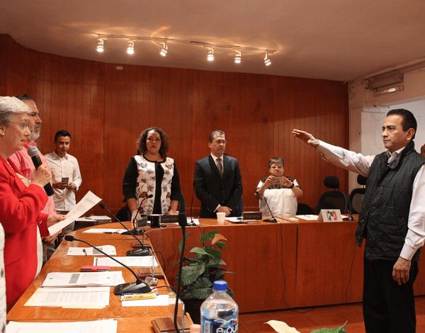 Luego de que concluyera su compromiso como encargado de Despacho de la Secretaría Ejecutiva del IMPEPAC, Jaime Sotelo Chávez se reincorpora como vocal secretario de la Junta Disrital 01 del Instituto Nacional Electoral (INE), con sede en Cuernavaca