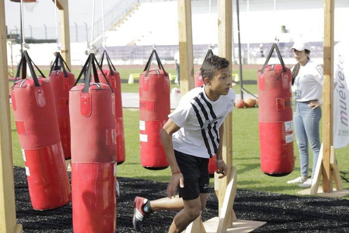 Las competencias se desarrollaron en la Unidad Deportiva Centenario y asistieron niños desde los 9 hasta los 15 años de 16 estados de la República Mexicana