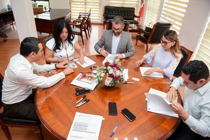 Pablo Ojeda indicó que el compromiso es mantener la paz, tranquilidad, gobernabilidad y preservar el Estado de Derecho desde la Secretaría de Gobierno