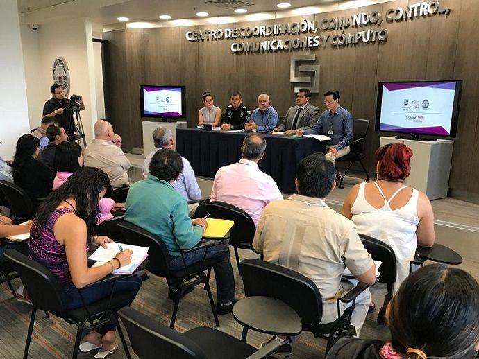 En el encuentro el titular de la CES resaltó la importancia de la participación ciudadana en la estrategia de combate a la inseguridad
