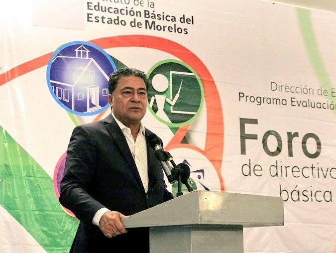 """Lo anterior durante el """"Foro Estatal de Directivos de Educación Básica en Morelos"""", al que asistieron cerca de 500 directivos y docentes del Programa Escuelas de Calidad"""